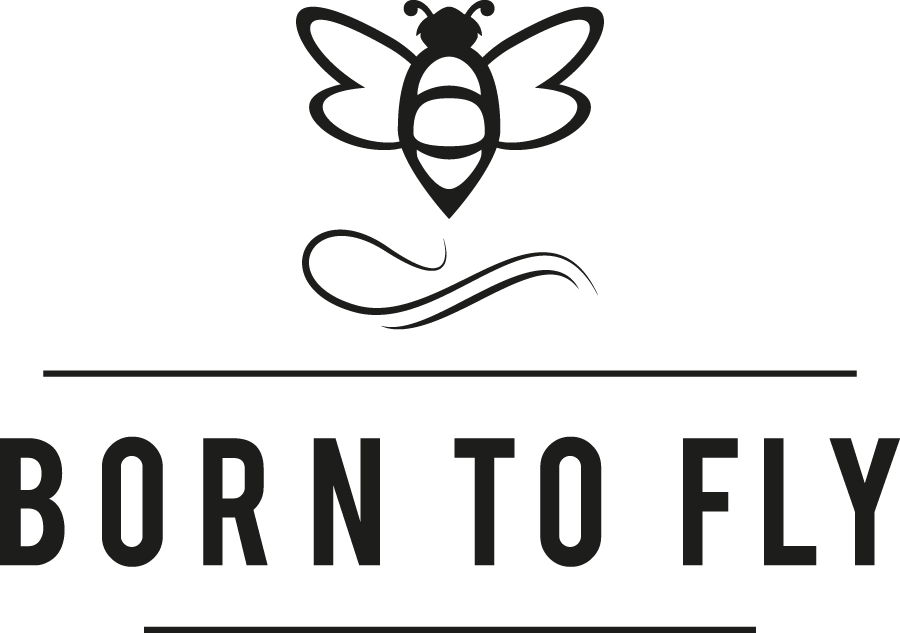 BORN TO FLY Logo