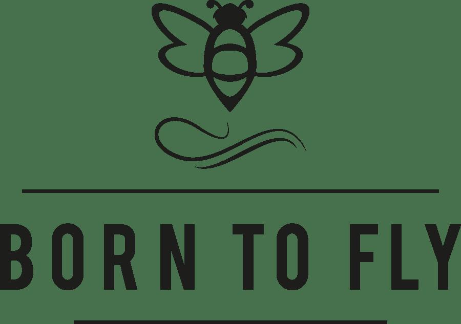 BORN TO FLY Logo